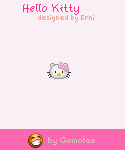 Hello Kitty emotions from Gomotes
