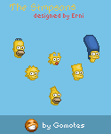 Simpsons emotions from Gomotes